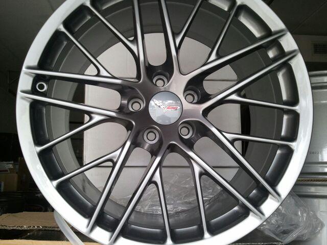 2009 13 Gm Zr1 Wheel Comp Grey